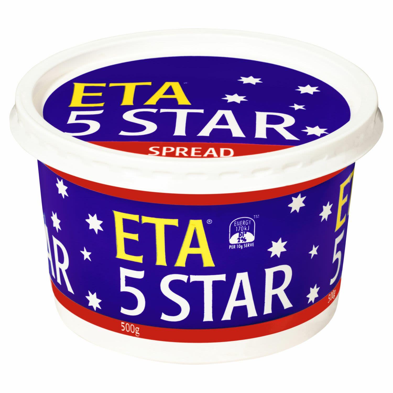 ETA Generic Margarine 5 Star, 500 Gram