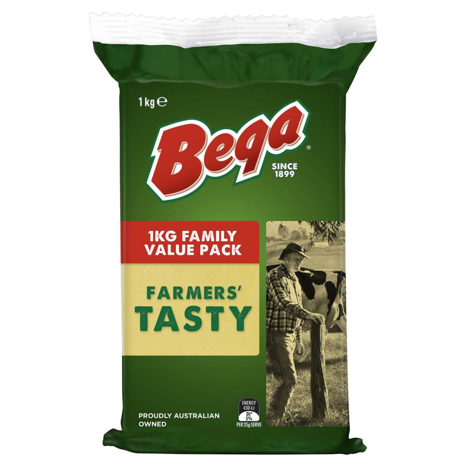 What makes Bega...Bega? Over 100 years of dairying heritage resulting in the unique taste you know and love.  100% natural.