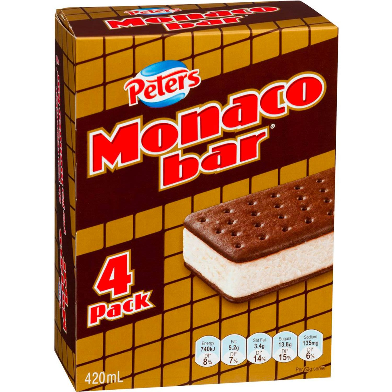 Peters Monaco Bar, 4 Each
