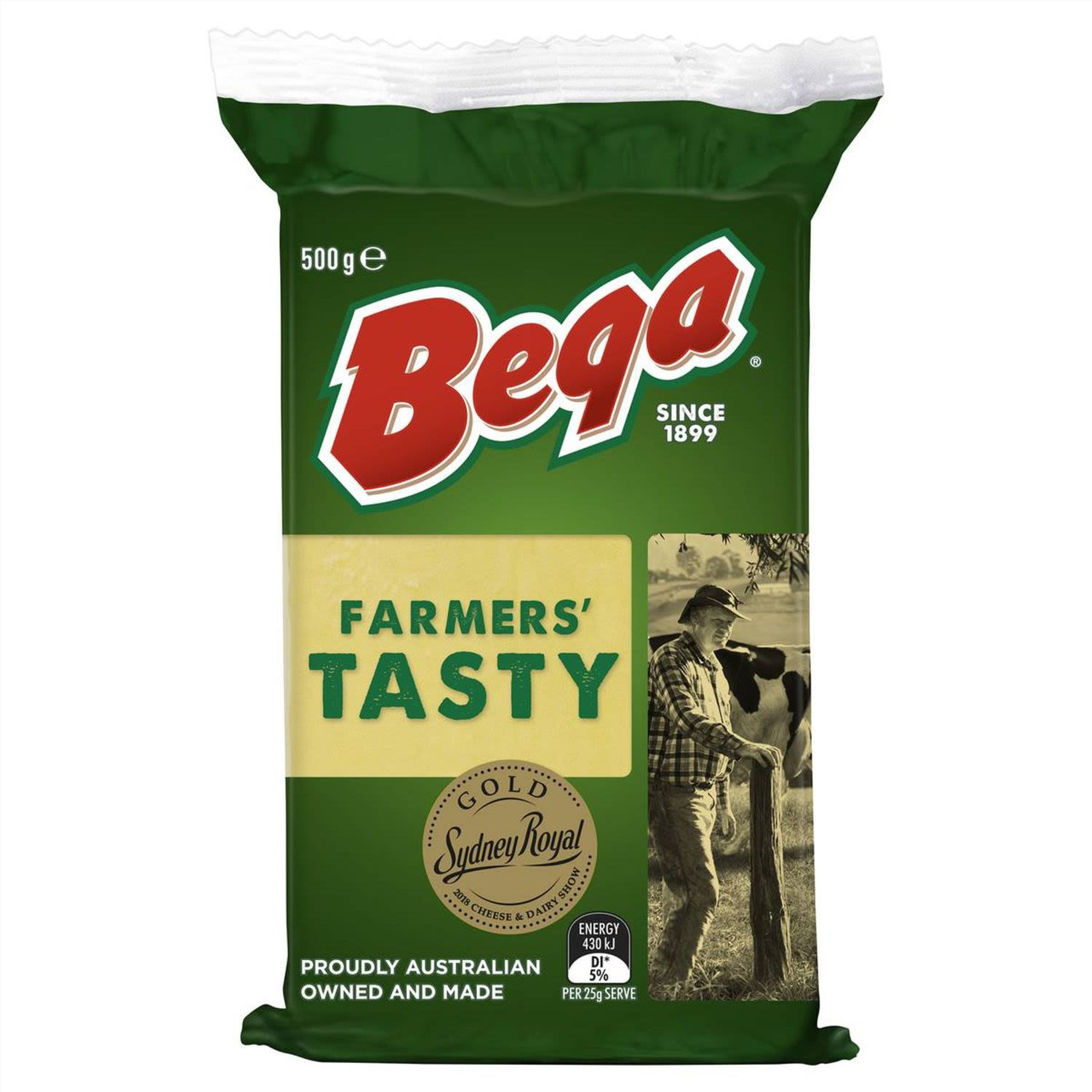 Proudly Australian owned and made. 100% Natural source of calcium. What makes bega.. bega? Over 100 years of dairying heritage resulting in the unique bega taste you know and love.