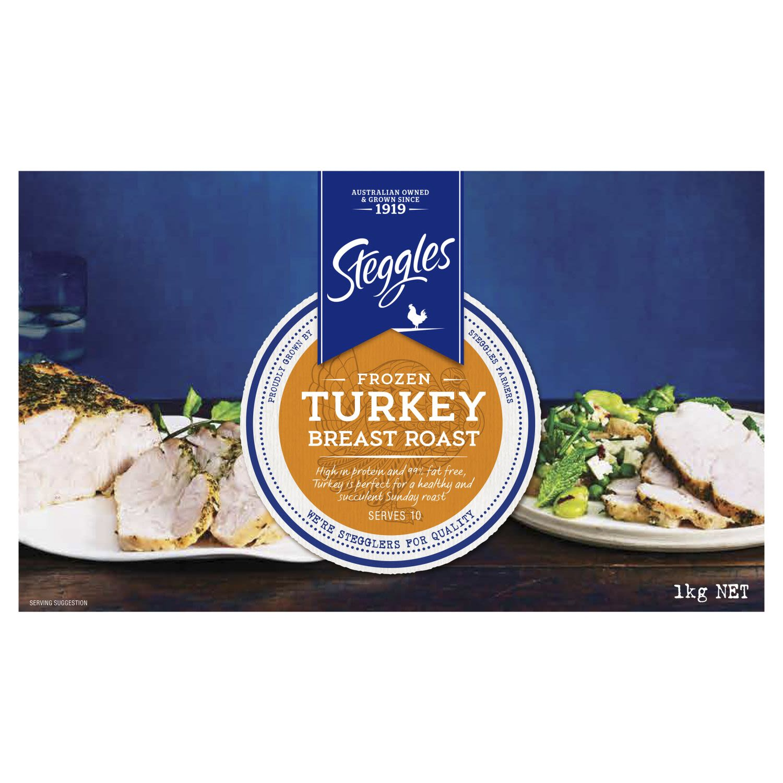 Steggles Frozen Turkey Breast Roast, 1 Kilogram