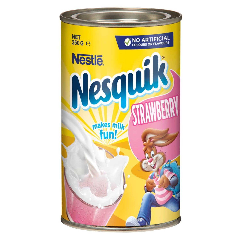 Nestlé Nesquik Strawberry, 250 Gram