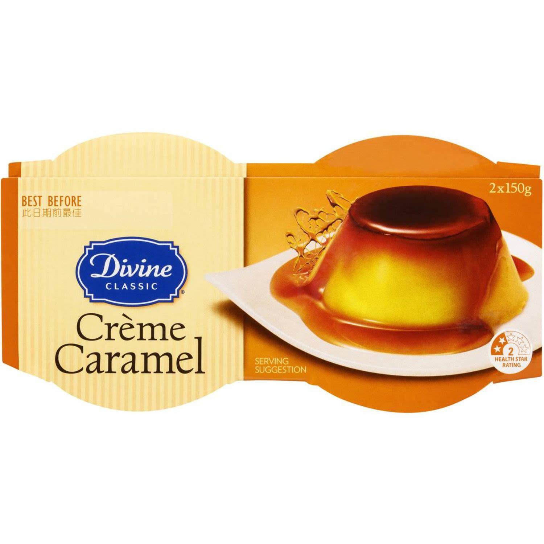 Divine Classic Crème Caramel, 2 Each