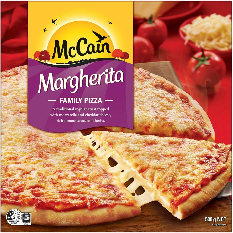 McCain Pizza Margherita, 500 Gram