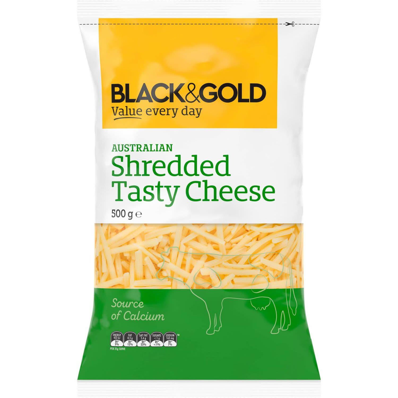 Black & Gold Tasty Shredded, 500 Gram