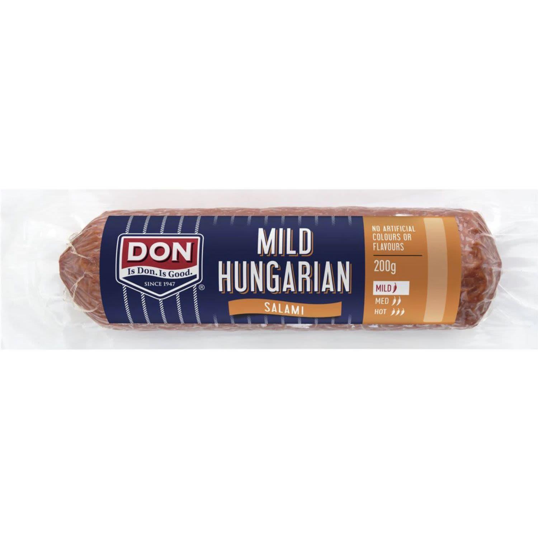 Don Salami Hungarian Plain, 200 Gram
