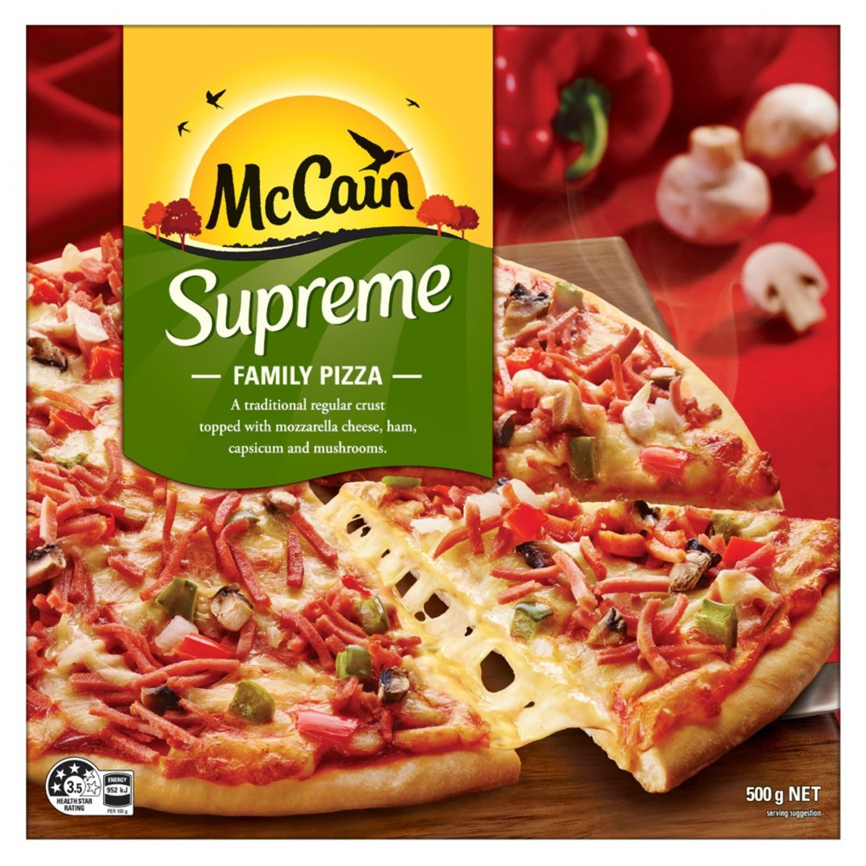 McCain Supreme Pizza, 500 Gram