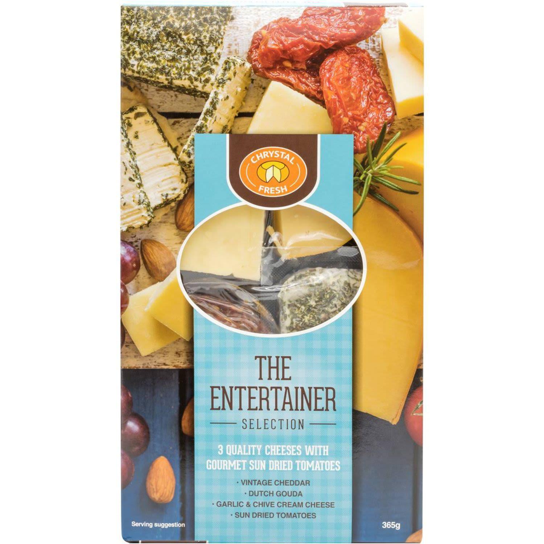 Chrystal Fresh Cheese Entertainer Selection, 365 Gram