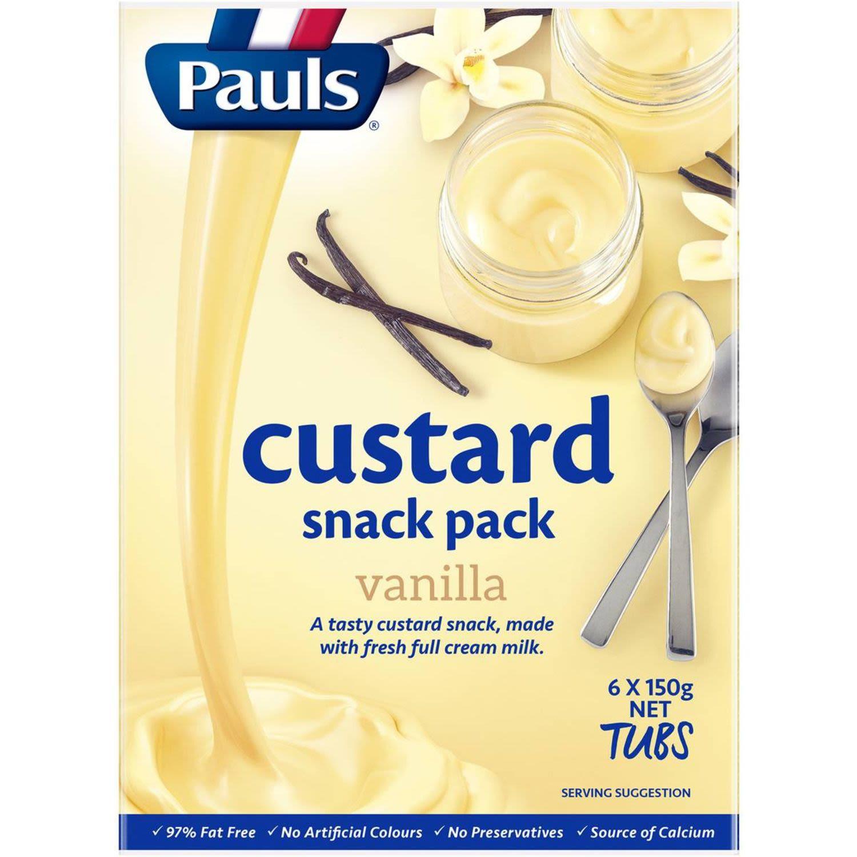 Pauls Vanilla Custard, 6 Each
