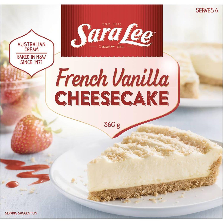 Sara Lee French Cream Cheesecake, 360 Gram