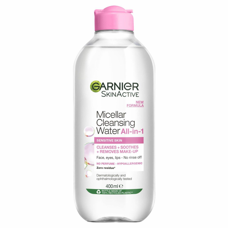 Garnier Micellar Cleansing Water All In 1 Normal to Sensitive Skin, 400 Millilitre