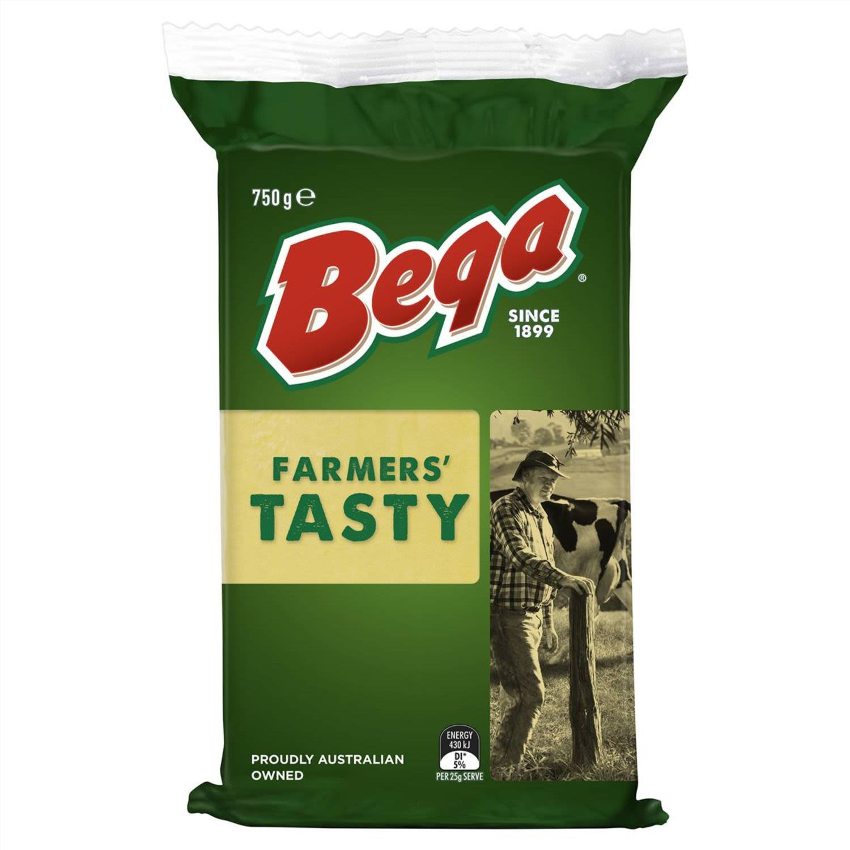 Bega Farmer's Tasty Cheese, 750 Gram