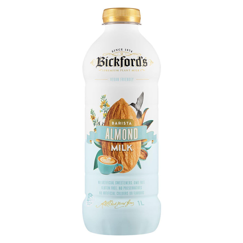 Bickford's Barista Almond Milk, 1 Litre