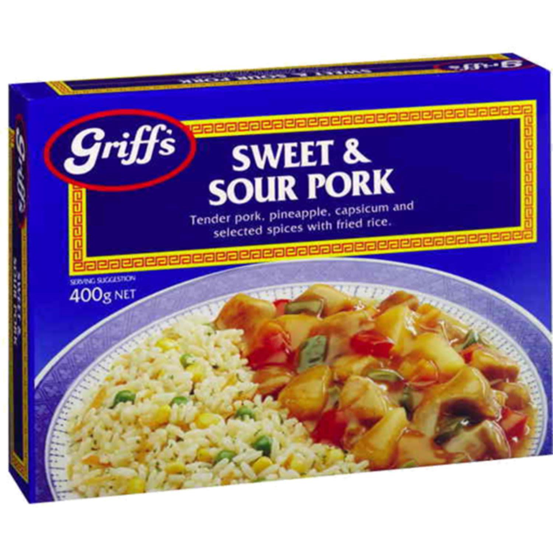 Griffs Sweet And Sour Pork, 400 Gram