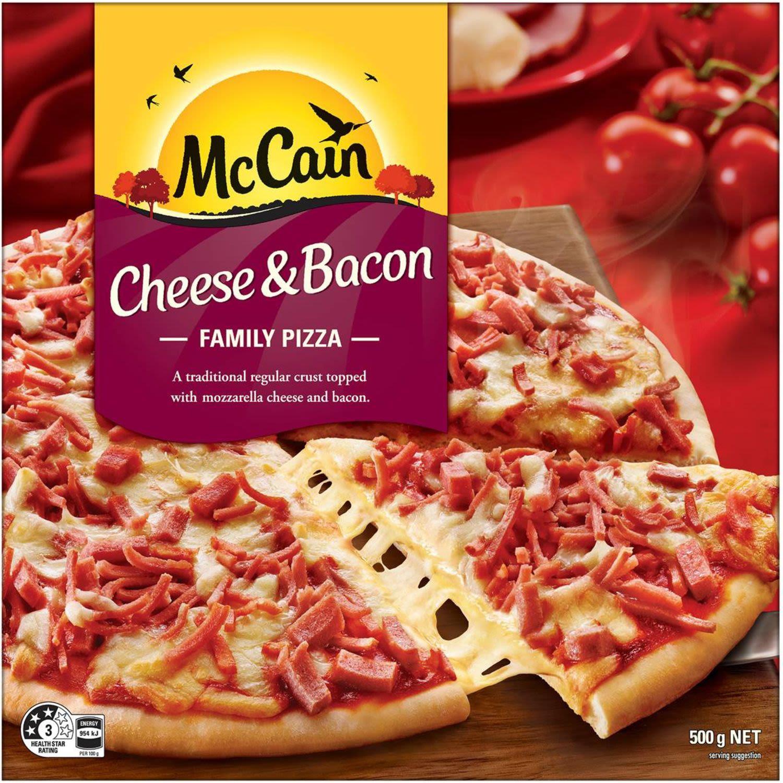McCain Pizza Cheese & Bacon , 500 Gram