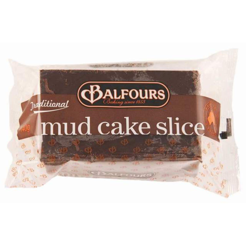 Balfours Mudcake Slice, 140 Gram