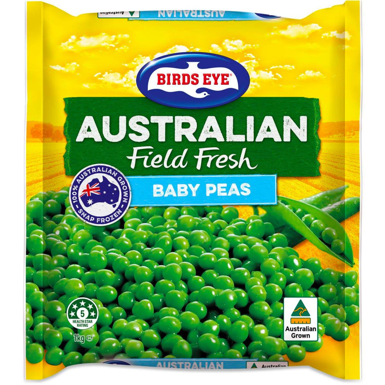 Birds Eye Baby Peas, 1 Kilogram