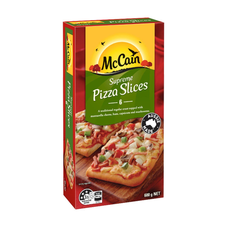 McCain Supreme Pizza Slices, 600 Gram