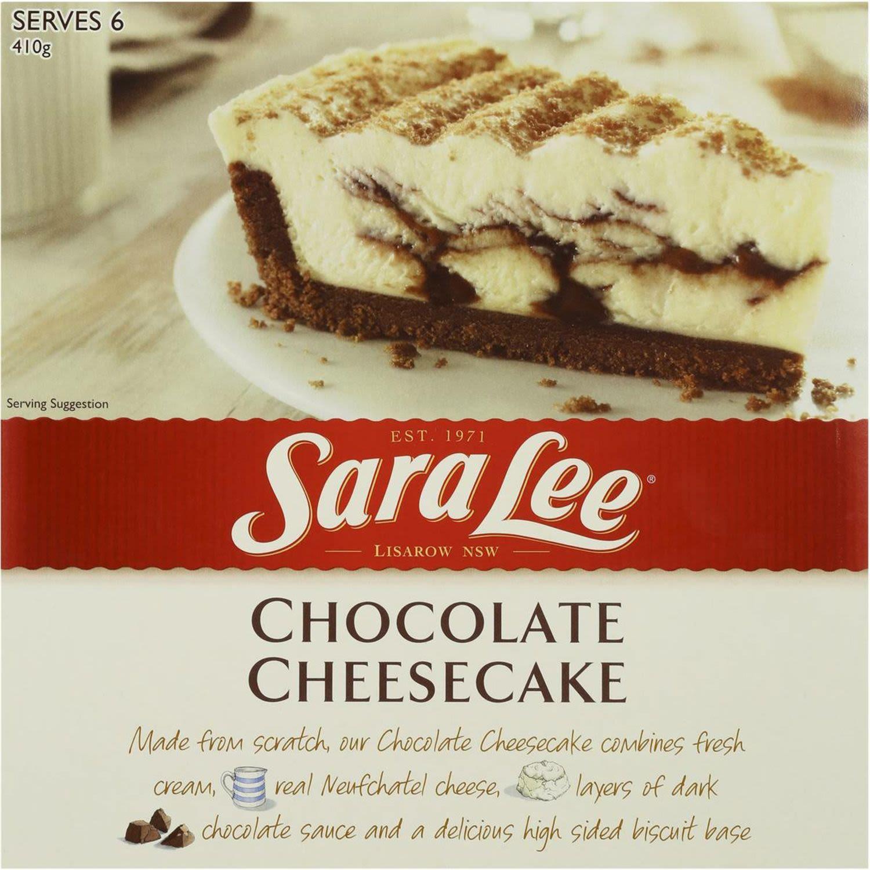 Sara Lee Chocolate Cheesecake, 400 Gram