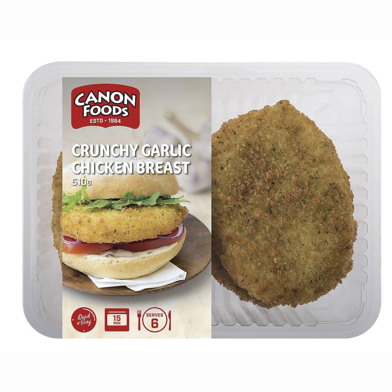 Quick Cook Crumbed Chicken Crunchy Garlic, 510 Gram