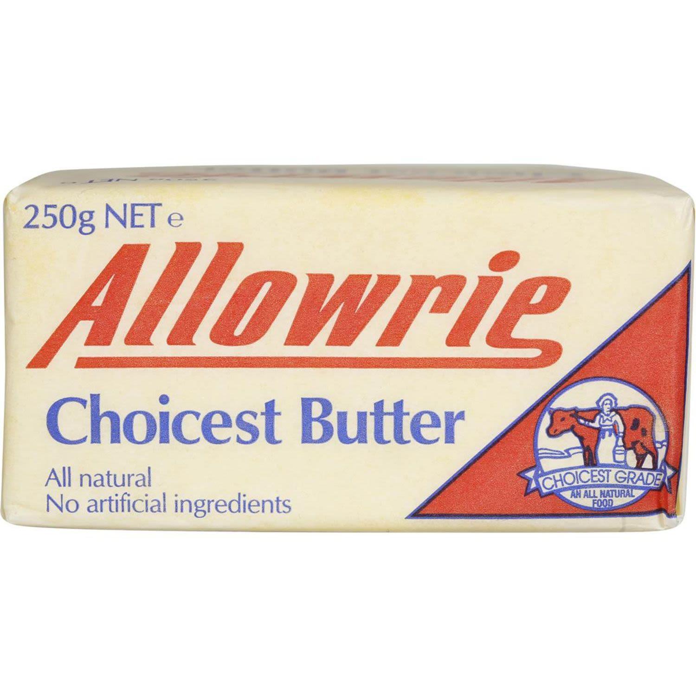 Allowrie Butter, 250 Gram