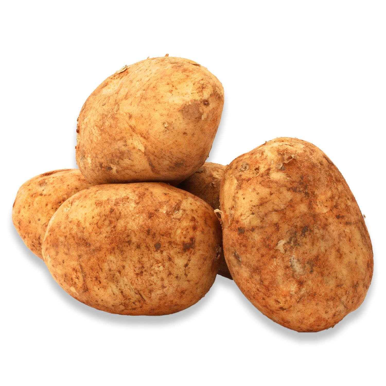 Brushed Potatoes Prepack 2kg, 1 Each