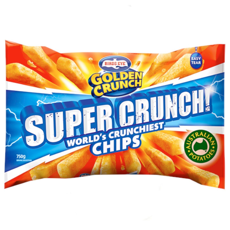 Birds Eye Golden Crunch Super Crunch, 750 Gram