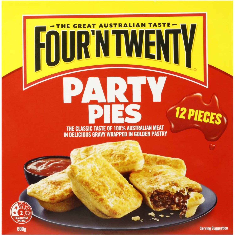 Four 'N Twenty Pies Party, 12 Each