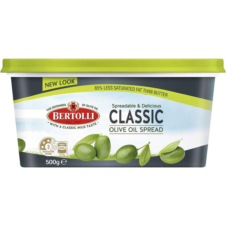 Bertolli  Olive Oil Classic Spread, 500 Gram