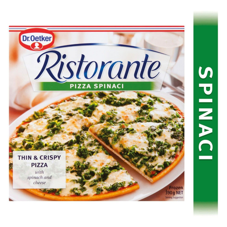 Dr Oetker Ristorante Pizza Spinaci, 390 Gram