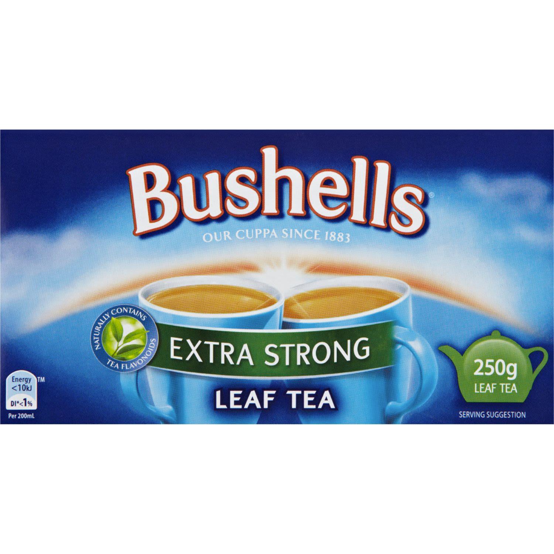 Bushells Extra Strong Leaf Tea, 250 Gram