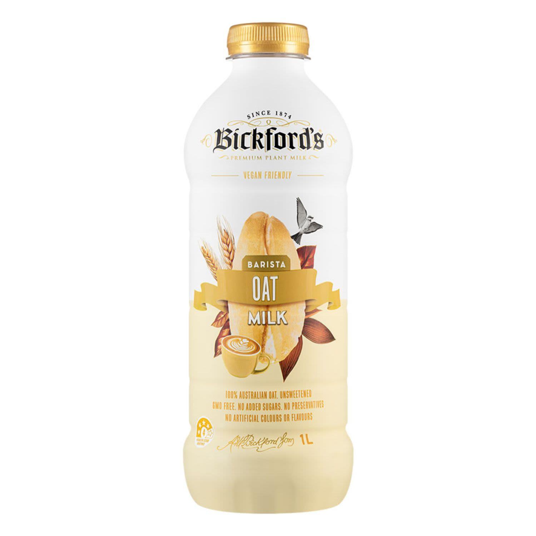 Bickford's Barista Oat Milk, 1 Litre