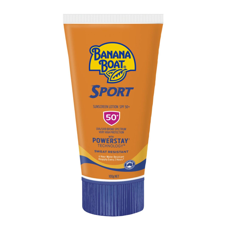 Banana Boat Sport Sunscreen Lotion SPF 50, 100 Gram