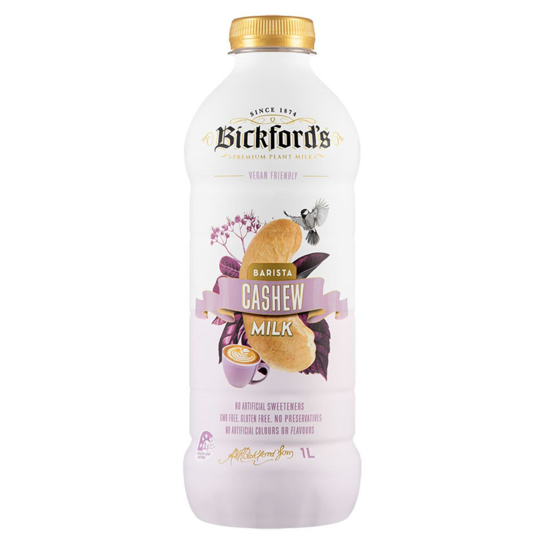 Bickford's Barista Cashew Milk, 1 Litre
