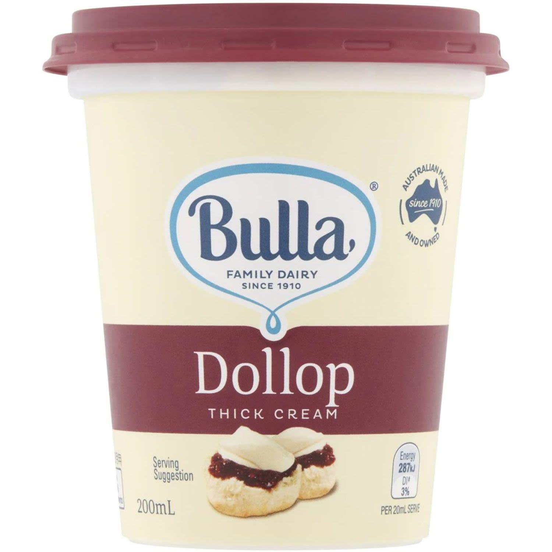 Bulla Cream Thick, 200 Millilitre