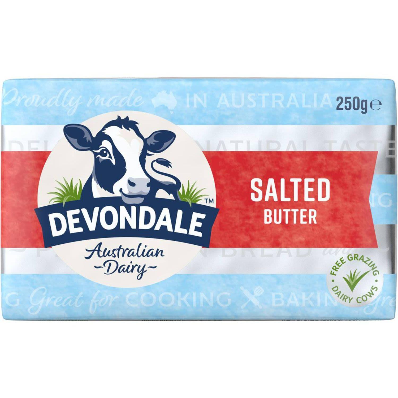 Devondale Butter Pat Salted, 250 Gram