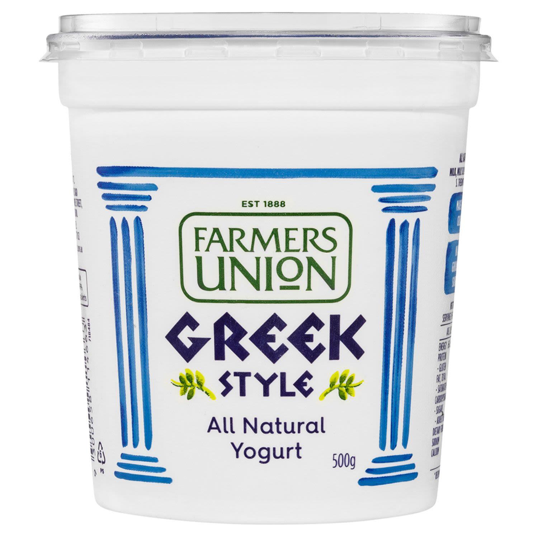 Farmers Union Greek Style Yogurt, 500 Gram