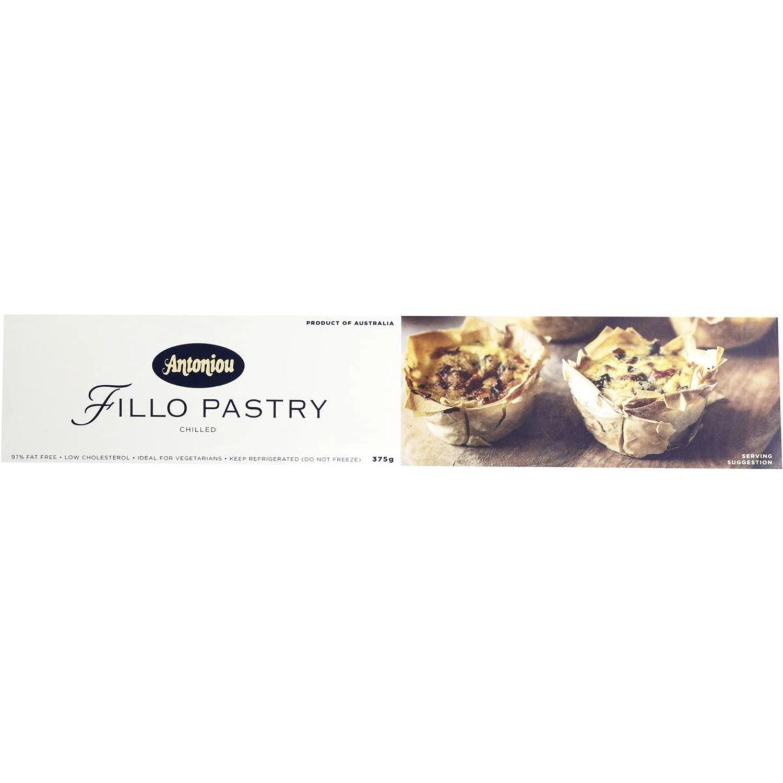 Antoniou Fillo Pastry, 375 Gram