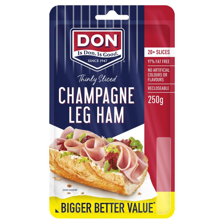 Don Champagne Shaved Leg Ham , 250 Gram