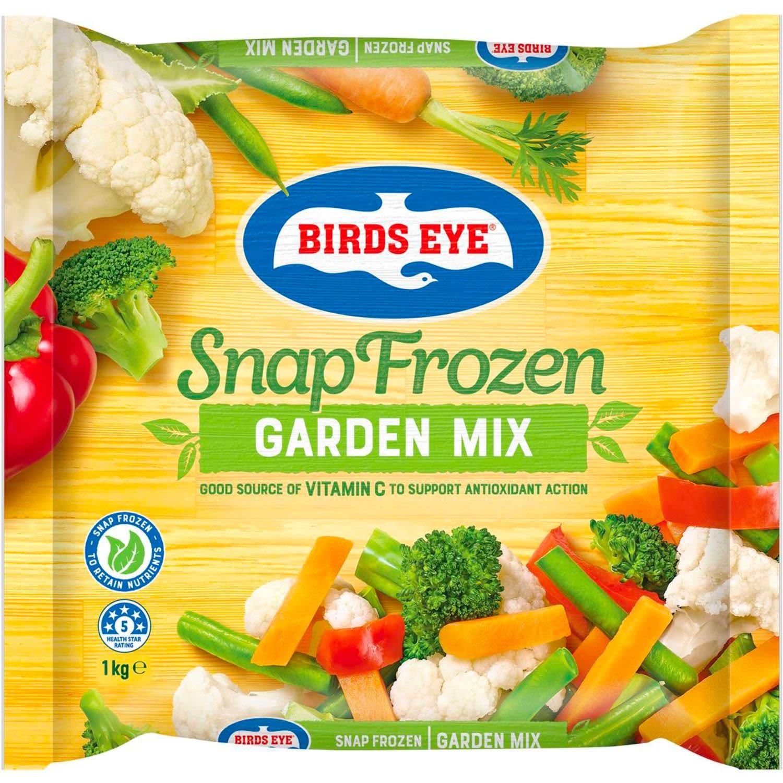 Birds Eye Country Harvest Mixed Vegetables, 1 Kilogram