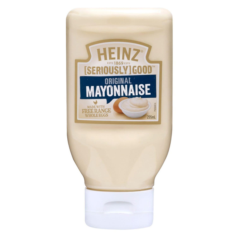 Heinz Seriously Good Whole Egg Mayonnaise, 295 Millilitre