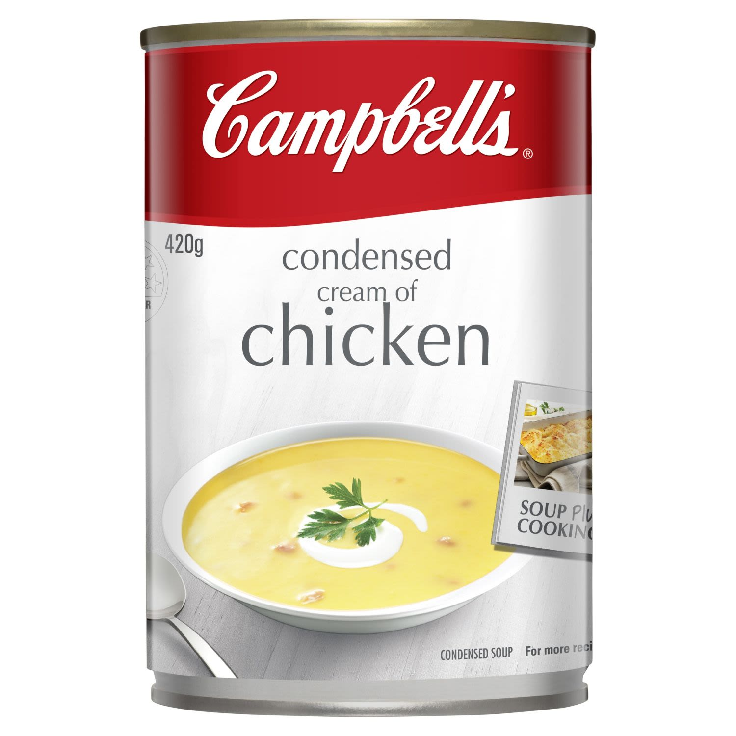 Campbell's Condensed Soup Cream of Chicken, 420 Gram