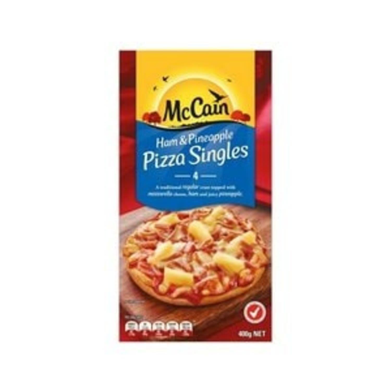McCain Pizza Singles Ham & Pineapple , 400 Gram