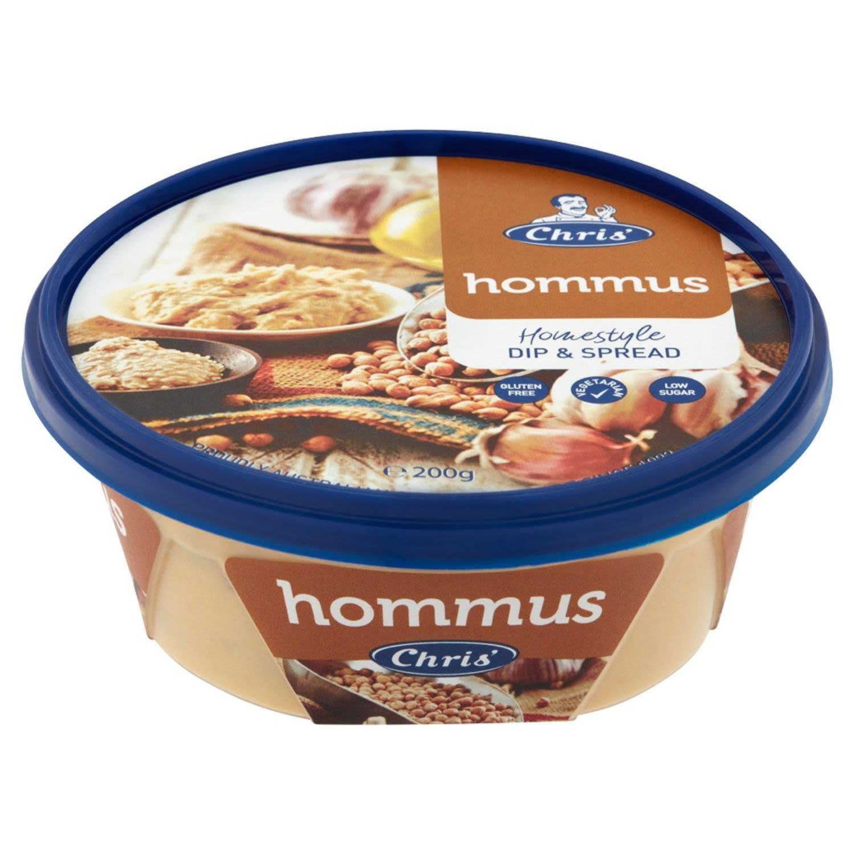 Chris' Hommus Dip, 200 Gram