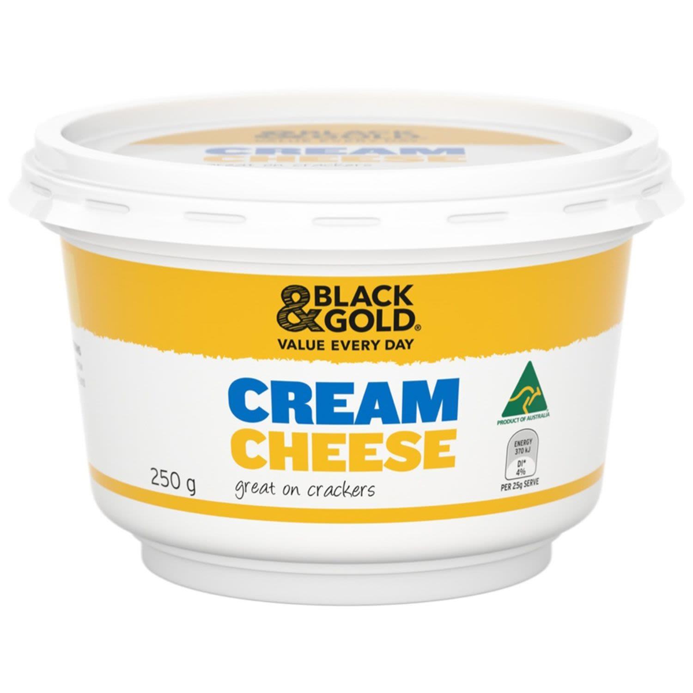 Black & Gold Cream Cheese, 250 Gram
