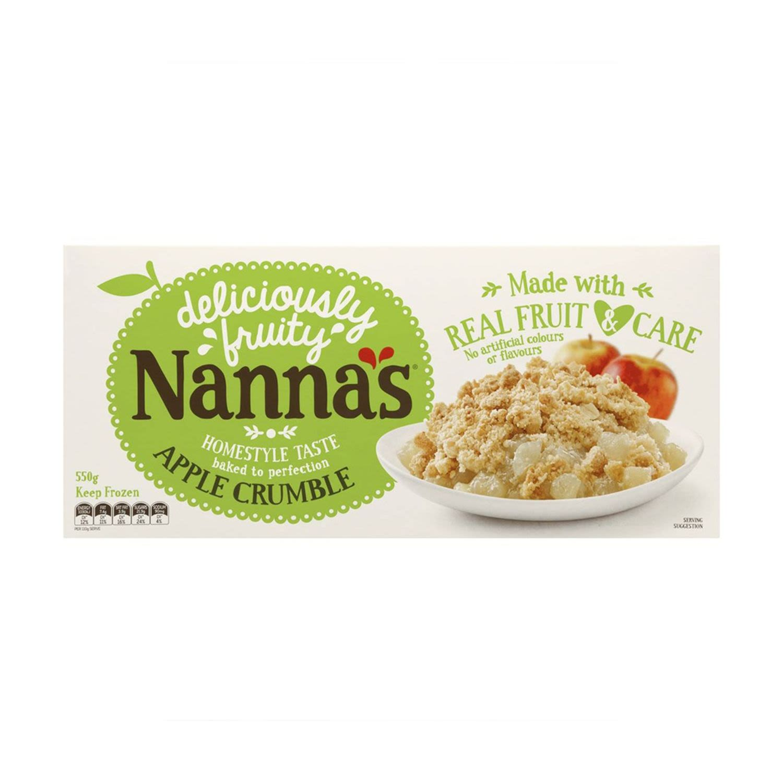 Nanna's Apple Crumble, 550 Gram