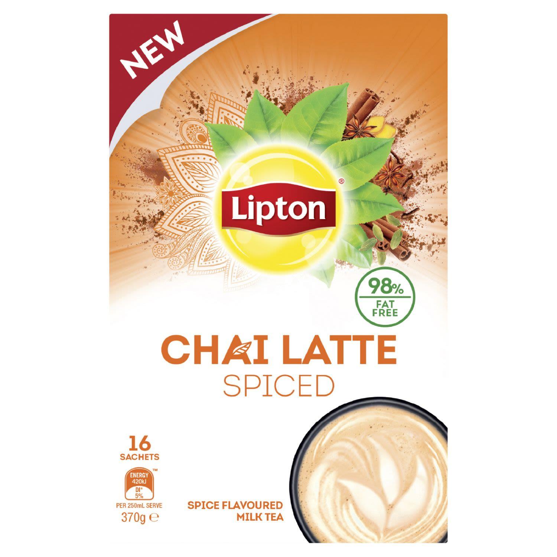 Lipton Spiced Chai Latte Sachets, 16 Each