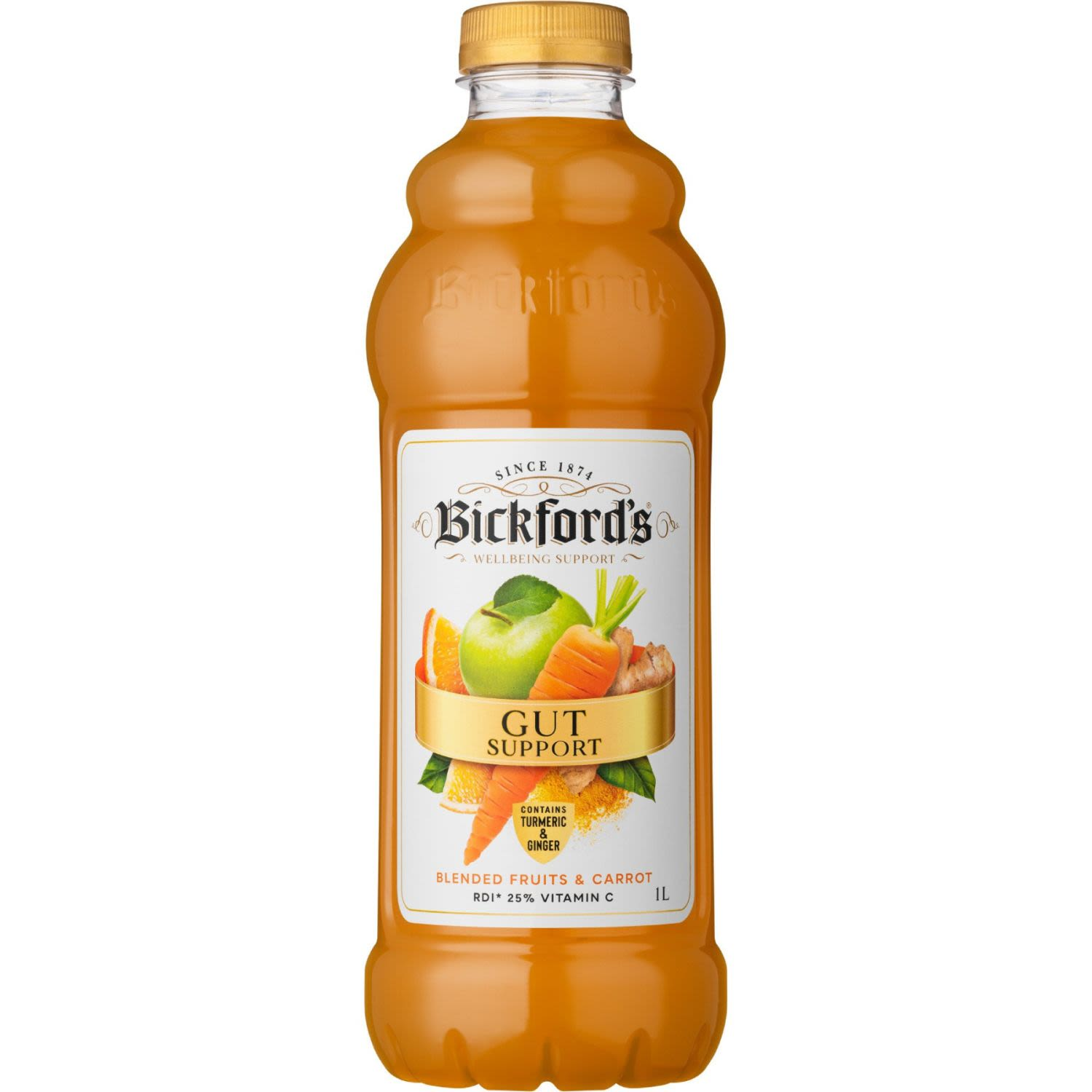 Bickford's Wellbeing Support Juice Gut Support, 1 Litre