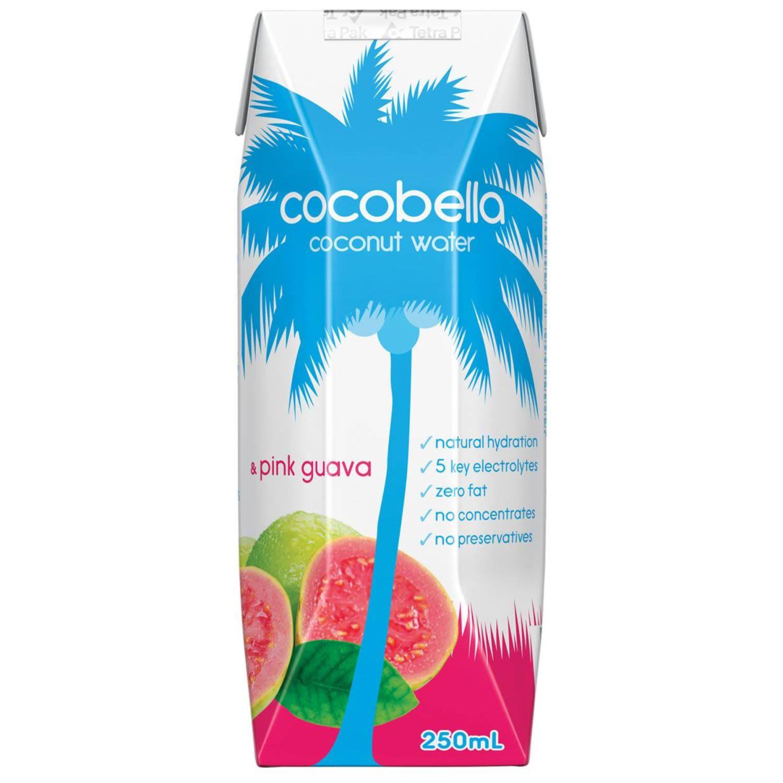 Cocobella Coconut Water & Pink Guava, 250 Millilitre