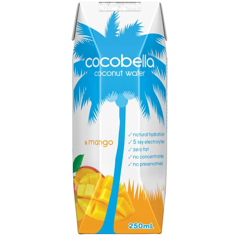 Cocobella Coconut Water & Mango, 250 Millilitre